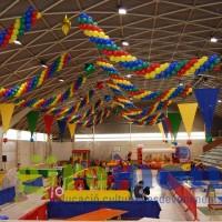 Guirnaldas de globos multicolor