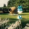 ramo de globos para bodas