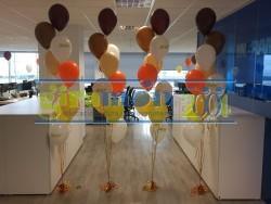 ramos de globos con helio acer