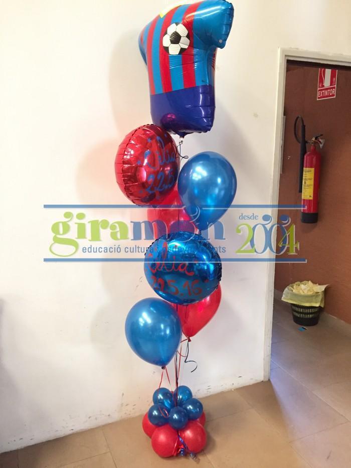 Ramo de globos tematizados
