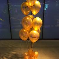 ramos de globos de publicidad