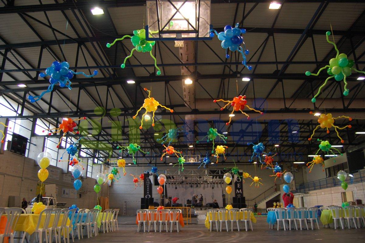 Decoraciones globos navidad caldas giram n giram n for Escuela de decoracion