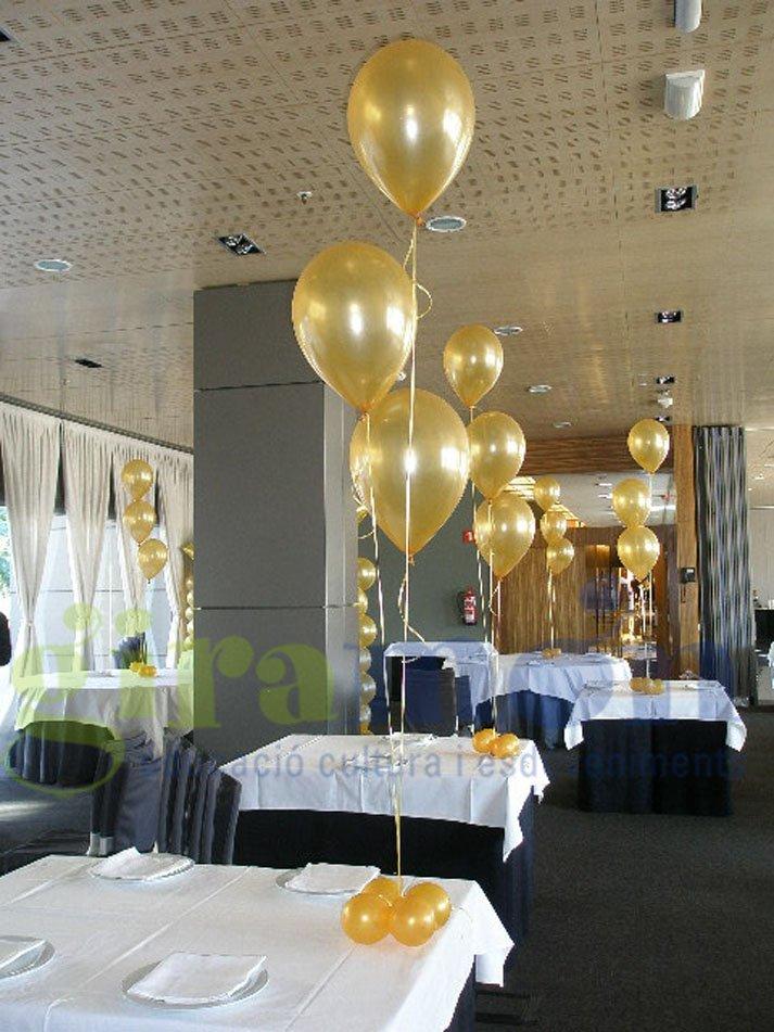 centros de mesa con globos - giramón : giramón