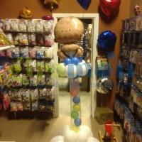 Tothem con globos para recien nacido