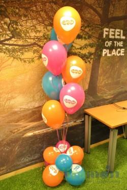 Ramo de globos personalizados