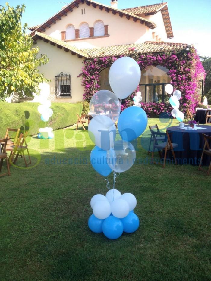 Ramos de globos en exterior Ref 001