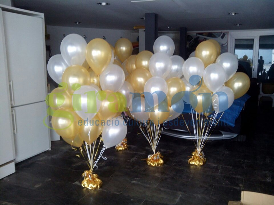 Ramo de globos para bodas Giramn Giramn