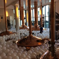 Decoración con globos de helio para eventos