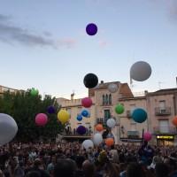 Globos gigantes para lanzar público
