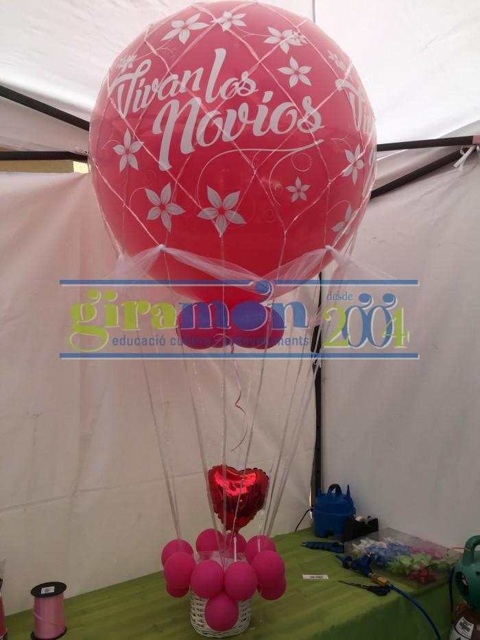 globo aerostático para bodas