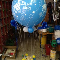 Globo gigante impreso con helio nacimientos