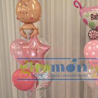 Ramo globos nacimiento bautizo