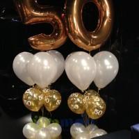 Ramo con globos aniversario