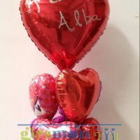Ramo de globos Super love