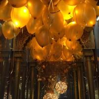 Decoracion con globos para restaurantes