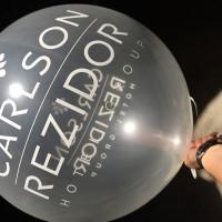 globo personalizado transparente 60 cm