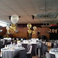 globos con helio para restaurantes