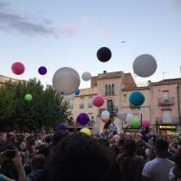 globos gigantes para lanzar al publico