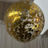 Globo relleno confetti CELEBRACIONES
