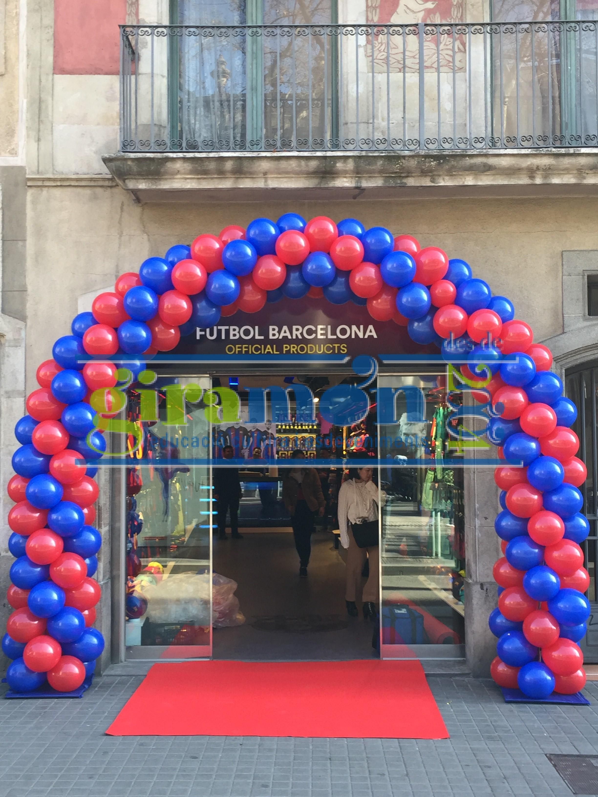 Arco globos barcelona giram n giram n - Globos terraqueos barcelona ...