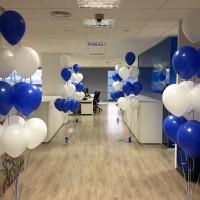 decoración con globos empresas