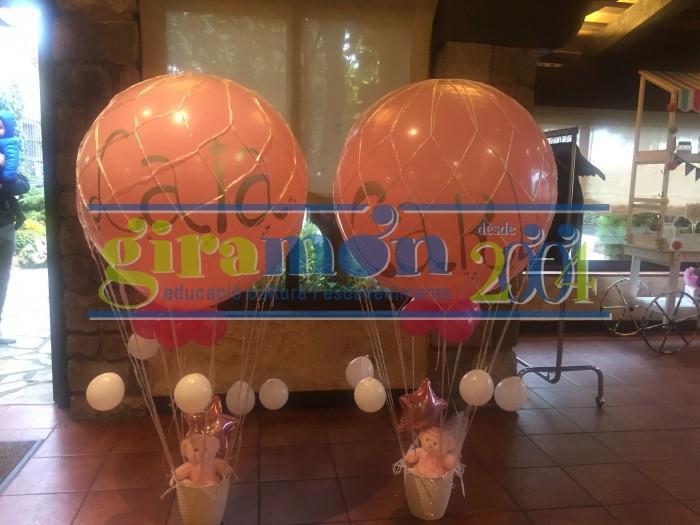 globo aerostatico decoración comunión