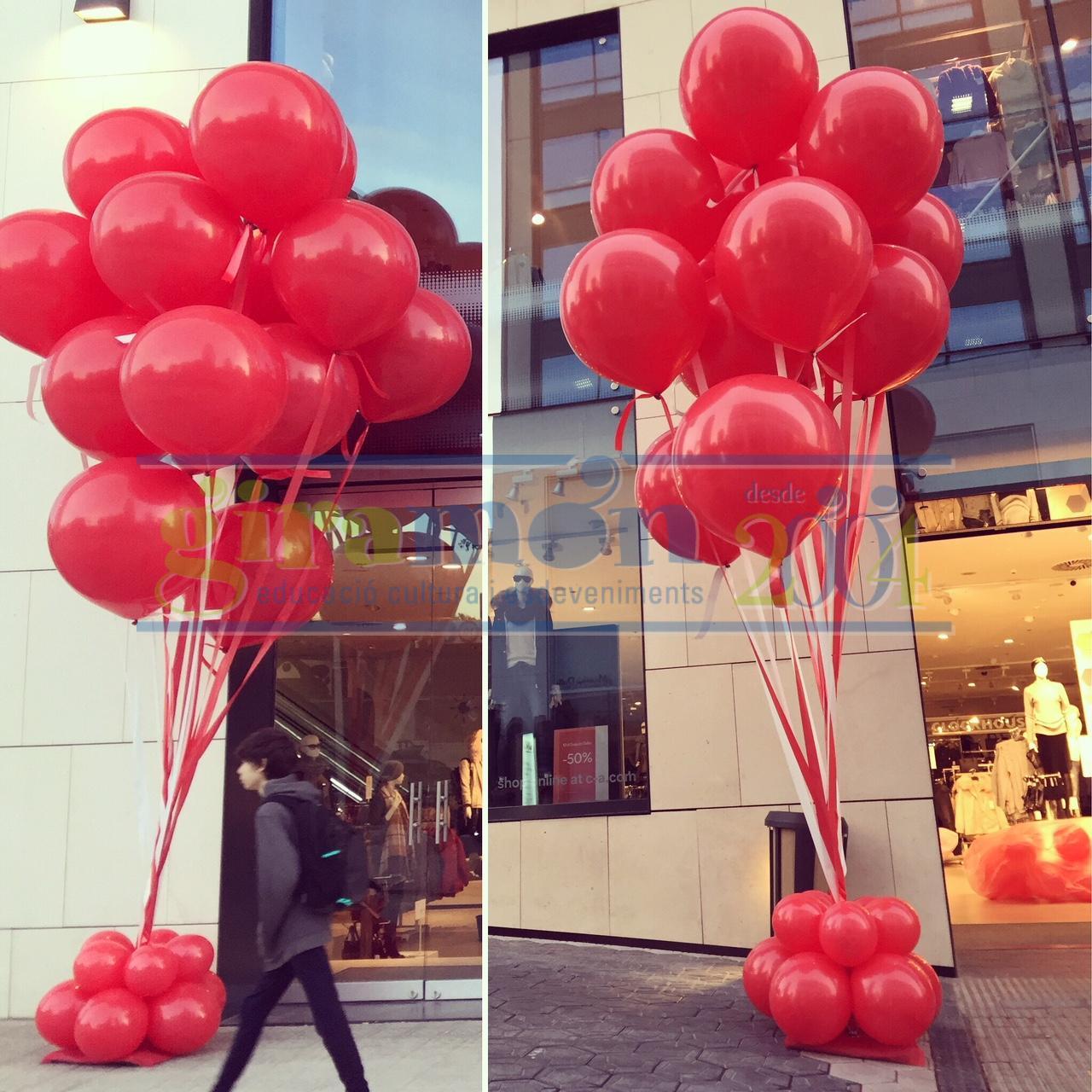 ramo de globos gigantes para eventos