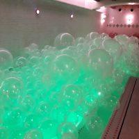 Decoración con globos Piscina Barcelona