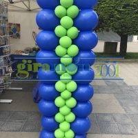 Columna de globus plana 2 tamaños