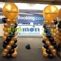 Columna globos personalizada