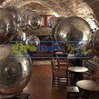 globos efecto espejo 80 cm
