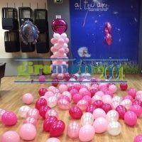 Decoración con globos para fiestas