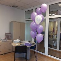 acciones marketing sampling con globos