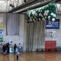 Caída de globos eventos deportivos