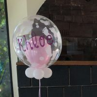 bubble con helio