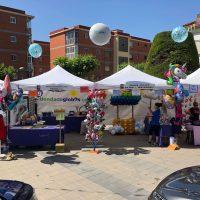 estand fira del comerç de Montmeló Juny 2019