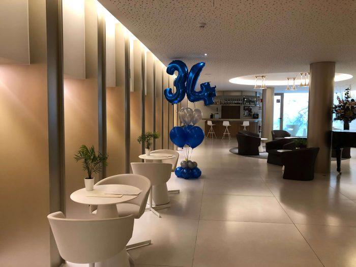 ramo de globos para cumpleaños