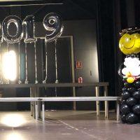 Decoración graduación con globos Barcelona