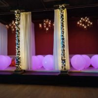 globos gigantes con luz para fiestas