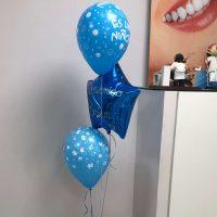 Ramo de globos regalo recien nacido. Ref104