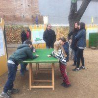 Juegos tradicionales en la plaza