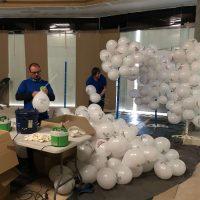 globos con varilla impresos personalizados