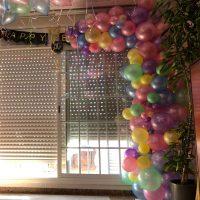 photocall globos aniversario orgánico