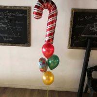ramo de globos baston caramelo