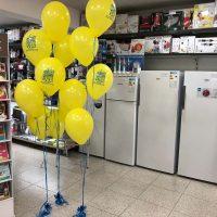 ramo de globos personalizados para tiendas