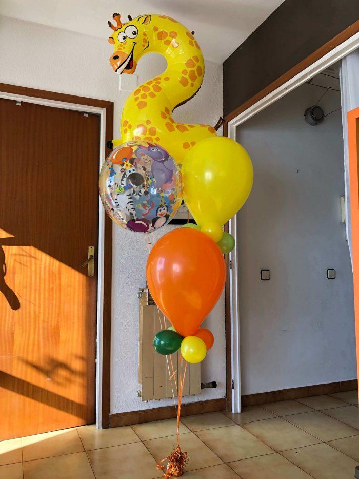 Ramo cumpleaños 2 años Ref 310