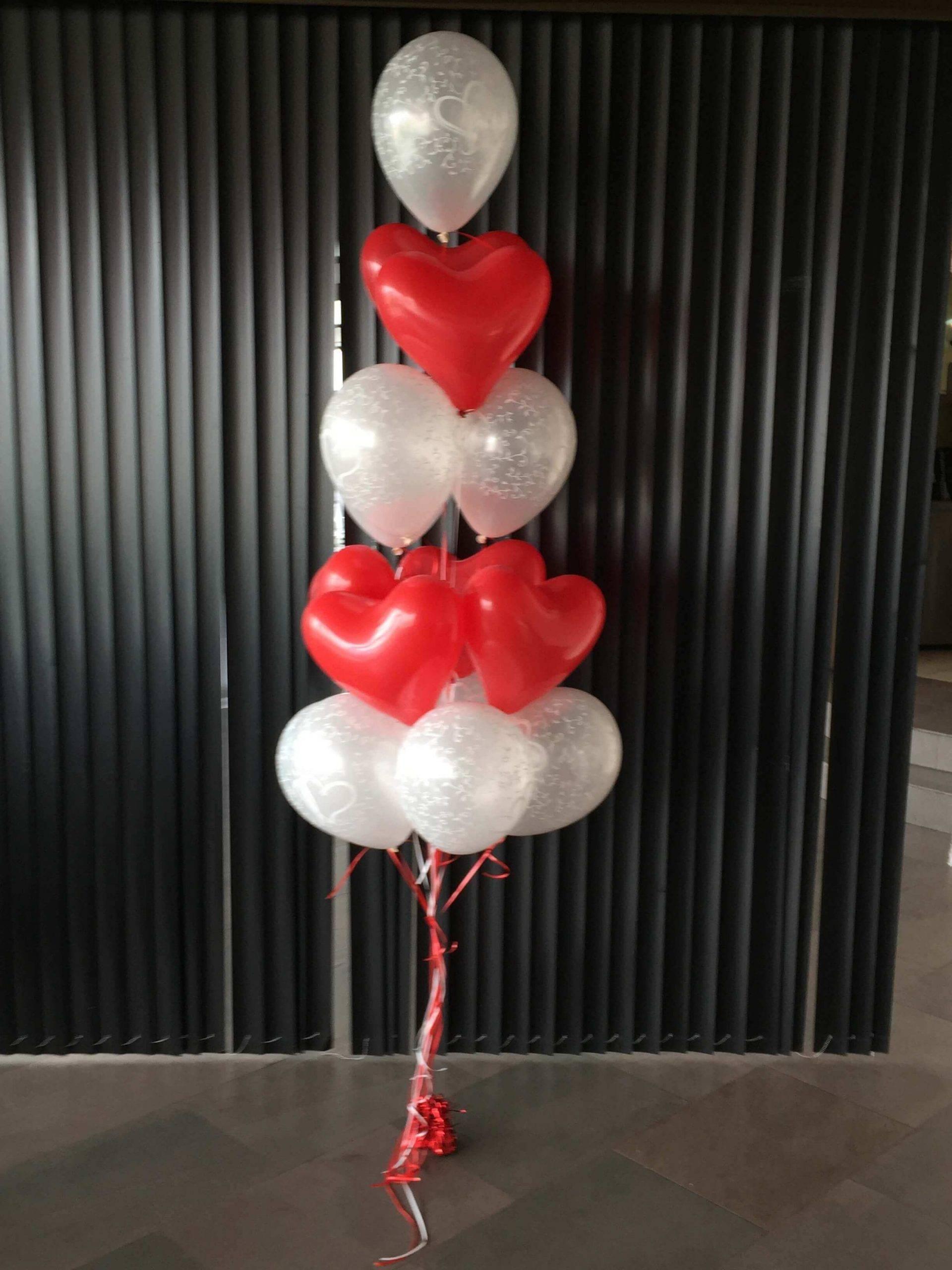 Ramo de globos enamorados. Ref202
