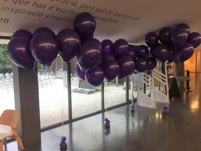 Ramo de globos de 40cm con helio