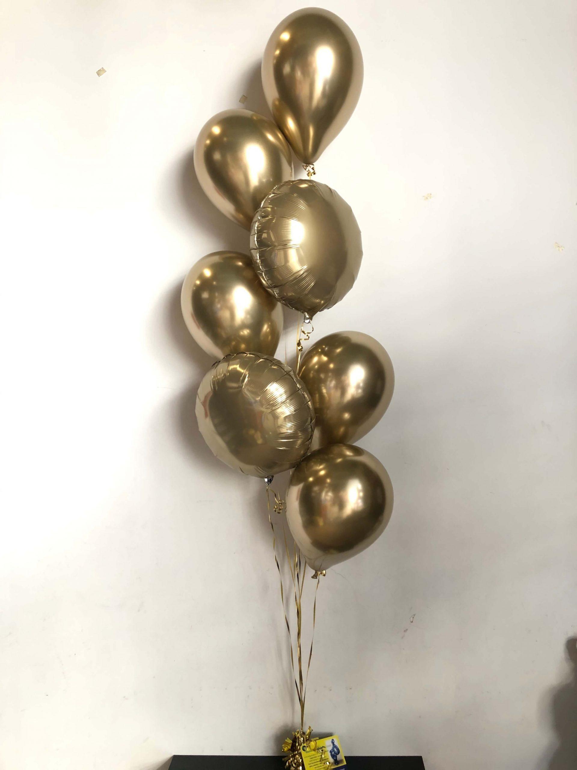 Ramo globos cromado, Ref 009