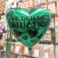 globo foil corazon con vinilo